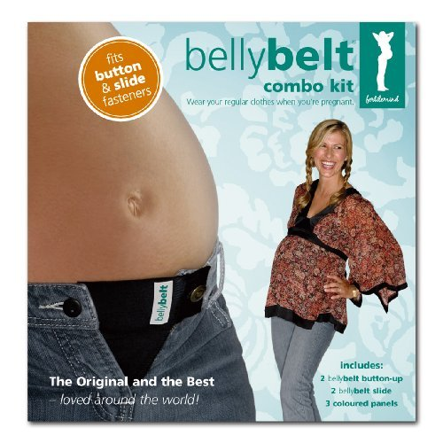 Fertile Mind Belly Belt - Black