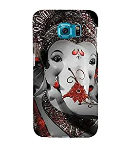 EPICCASE Lord Ganesh Mobile Back Case Cover For Samsung Galaxy S6 Edge Plus (Designer Case)