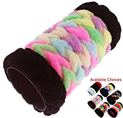 iOna Beauty Essentials PTSET7G6F Hair Band Rubber Bands Elastics Hairband Ponytailer for Girls