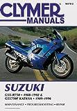 Penton Clymer Suzuki GSX-R750 1988-1992 and GSX750F Katana 1988-1996 (Clymer Motorcycle Repair)