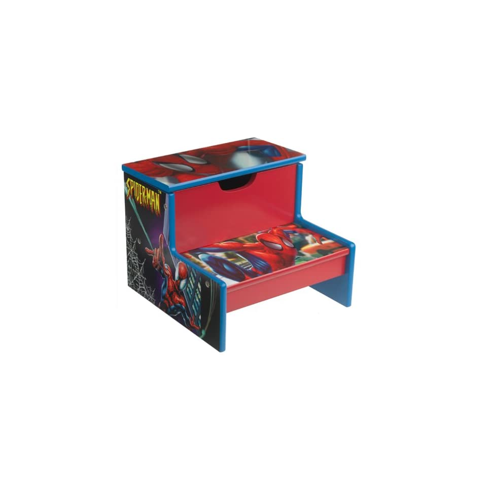 Stupendous Spider Man Step Stool On Popscreen Gmtry Best Dining Table And Chair Ideas Images Gmtryco