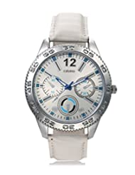 Calvino Men's White Dial Watch CGAS-151480_Wht-Wht