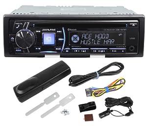 CDE-147BT - Alpine CD Receiver with Advanced Bluetooth