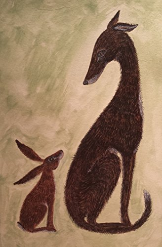 tentative-greetings-hare-and-hound-art-print