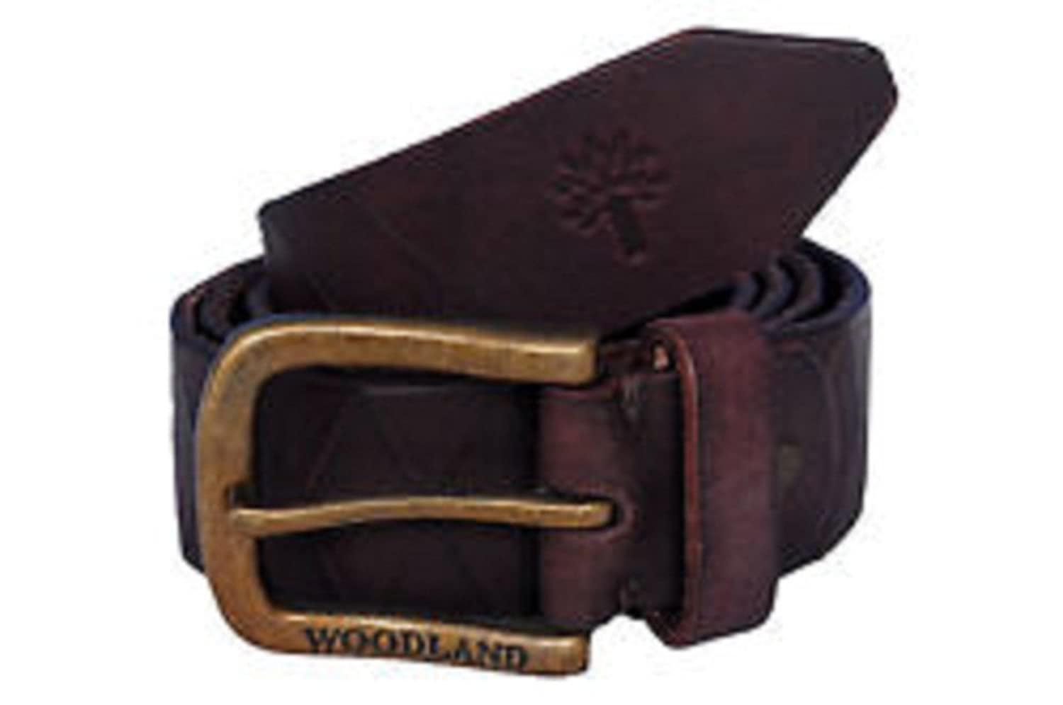 woodland leather belt woodland bt 1036008 brown 38