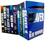 Jeffery Deaver Jeffery Deaver Collection 9 Books Set RRP £71.91 (Lincoln Rhyme) (Manhattan Is My Beat, Death of a Blue Movie Star, The Blue Nowhere, A Maiden's Grave, The Bone Collector, The Empty Chair, Shallow Graves, Speaking in rongues, Mistress of