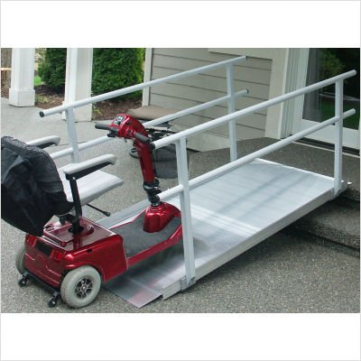 Pathway Ramp Classic Series with Handrails Size: 4'
