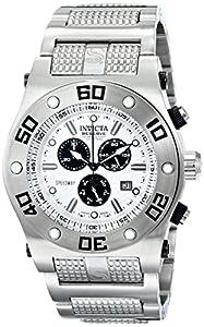 Invicta Men's 15360 Pro Diver Analog Display Swiss Quartz Silver Watch