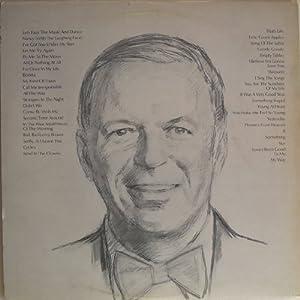 Frank Sinatra Frank Sinatra Portrait Of Sinatra