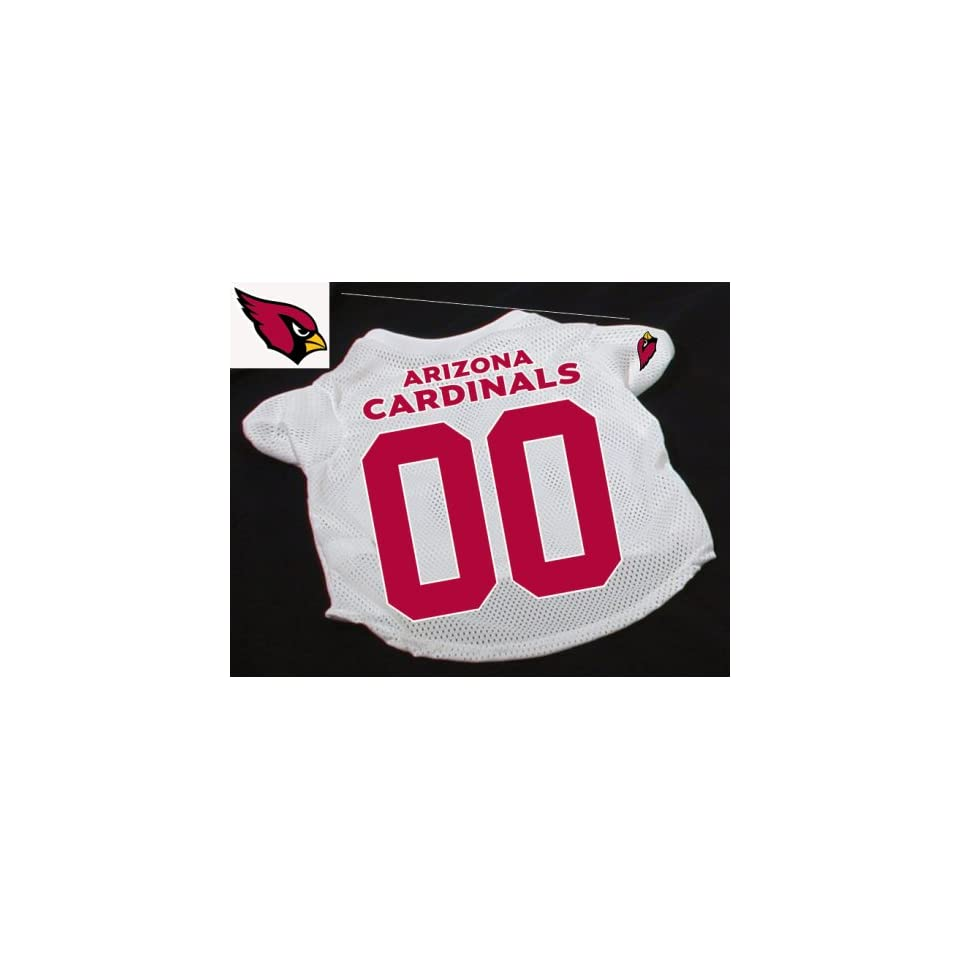 Officially Licensed by the NFL   Arizona Cardinals Dog Football Jersey   Large