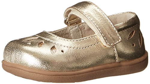 See Kai Run Kalia Mary Jane (Infant/Toddler),Gold,3 M Us Infant front-505061