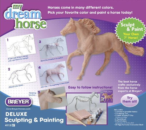 Breyer My Dream Horse Deluxe Model Horse Sculpting And Painting