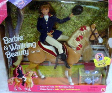 niedzielalka horse riding barbie 1997 akwarelove