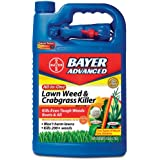 Bayer Advanced 704130 All-in-One Lawn Weed and Crabgrass Killer Ready-To-Use, 1-Gallon