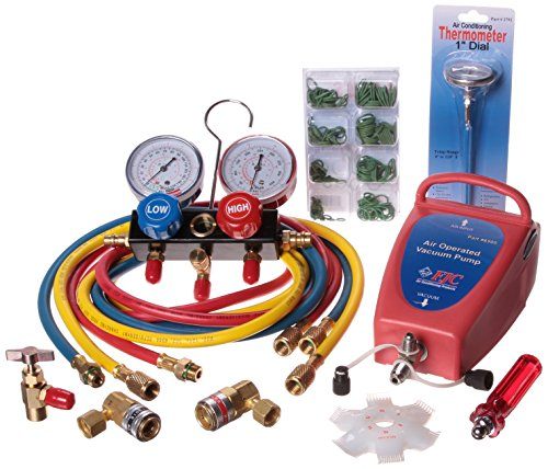 FJC KIT4 Air Conditioning Starter Tool Kit (Air Conditioning Thermometer compare prices)