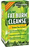 Applied Nutrition 14-Day Fat Burn Cleanse Tablets, 56-Count Box