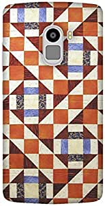 The Racoon Grip printed designer hard back mobile phone case cover for Lenovo K4 Note. (Modern Qui)