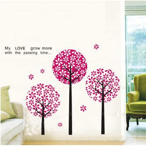 Trees removable Vinyl Mural Art Wall Sticker Decal