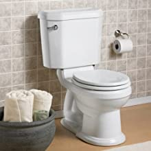 American Standard Townsend Champion-4 Right Height Round Front Toilet Bowl with Bolt Caps