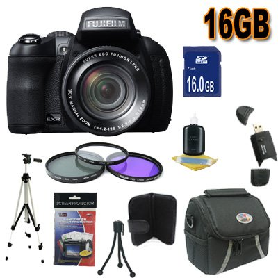 Fujifilm FinePix HS30XR 16 MP Digital Camera
