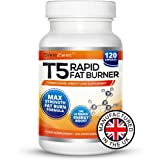 T5 Fat Burners | Slimming Pills Super Strong | 120 Thermogenic Diet Tablets | 4 Month Supply Of Slimming Tablets That Really Work Fast To Burn Belly Fat For Men And Women | Maximise Your Weight Loss And Super Charge Your Workout With Increased Stamina and Mental Focus | Best Selling Fat Burners