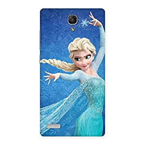 Premier Angel Princess Multicolor Back Case Cover for Redmi Note 4