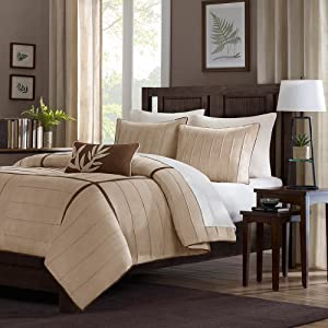 Home Essence Lancaster 4-Piece Comforter Set - King