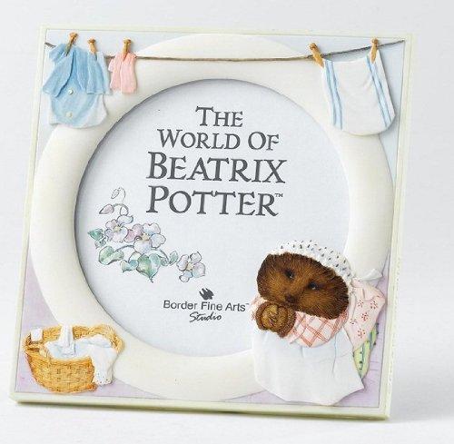 Peter Rabbit And Friends Border Fine Arts - Beatrix Potter - Mrs Tiggy Winkles Photo Frame front-903453