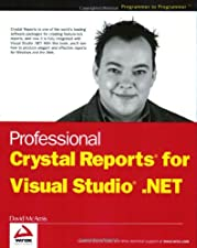 Professional Crystal Reports for Visual Studio NET by David McAmis