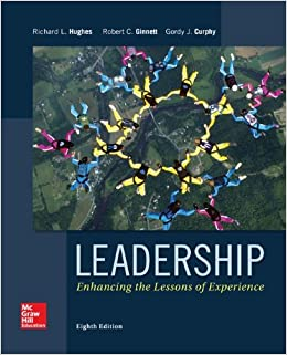 hughes text leadership enhancing the lessons of experience Start by marking leadership: enhancing the lessons of experience as want to read: enhancing the lessons of experience by richard l hughes this text was written for the general student to serve as a stand-alone introduction to the subject of leadership.