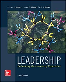Leadership: Enhancing The Lessons Of Experience