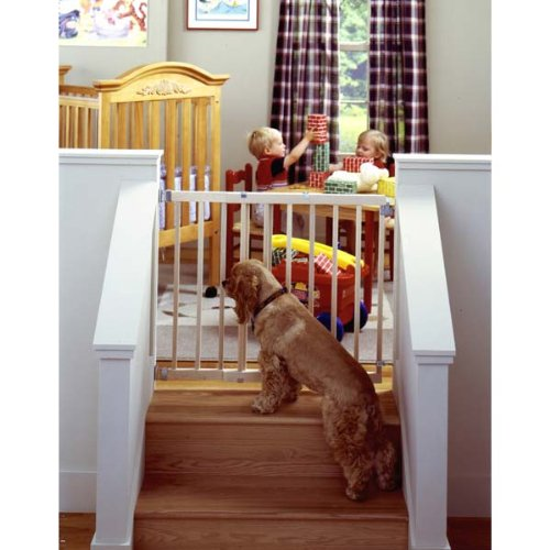 """Stairway Swing Gate 28"""" - 42"""" X 30"""" By North States"""