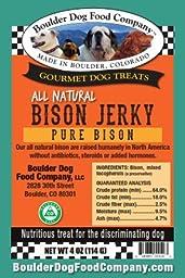 Boulder Dog Food Company Bison Jerky 4 Oz