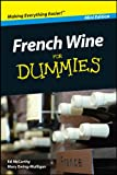 img - for French Wine For Dummies , Mini Edition (Dummies Mini) book / textbook / text book