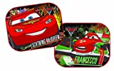 Disney Baby Coppia tendine laterali Cars -Saetta & Francesco 44x35 cm