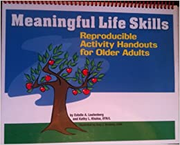 activity adult handouts life meaningful older reproducible skill