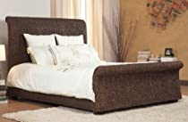 Hot Sale Modus Furniture International Beachcomber Sleigh Bed, Queen, Banana Weave