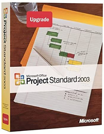Microsoft Project 2003 Standard Upgrade [Old Version]