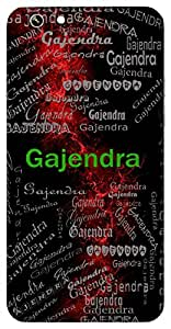Gajendra (Elephant King (Lord Airavat)) Name & Sign Printed All over customize & Personalized!! Protective back cover for your Smart Phone : Samsung Galaxy S4mini / i9190