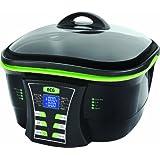 ECG MH 178, 1500W, Casserole 9 fonctions : cuisson lente, hot pot, faire sauter, faire bouillir, bain de friture, griller, frire, vapeur, Capacité de bol 5 l