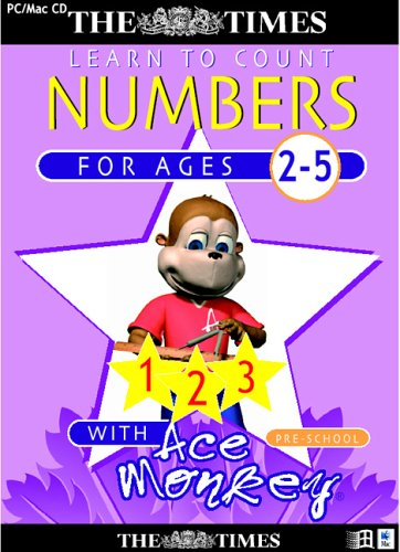 The Times Ace Monkey Pre-School Numbers (Ages 2-5)