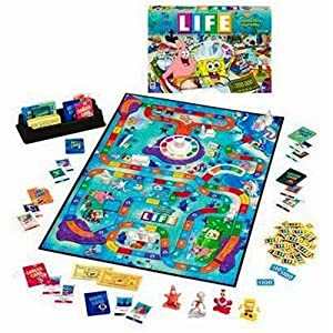 Game of Life Spongebob board game!