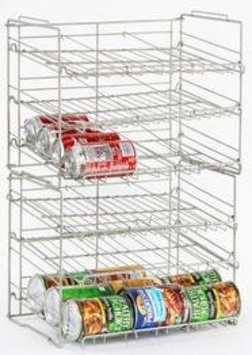 Atlantic Silver Steel 23235595 Double Canrack Organizer - Can Food Kitchen Rack (Atlantic Can Rack compare prices)