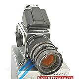 Hasselblad (ハッセルブラッド) 500 C/M ブラック + Planar 2.8/28 T* レンズ + A-12 フィルムマガジン