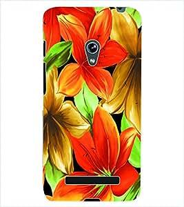 ColourCraft Flowers Back Case Cover for ASUS ZENFONE 5 A500KL