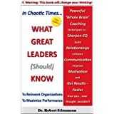 What Great Leaders Should Know