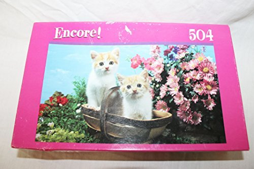 Encore 504 piece jigsaw Twin Kittens puzzle