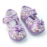 Nuevo Zapatos Algod�n con Lazo para Aprender Primeros Pasos 0-9 Meses Beb�s