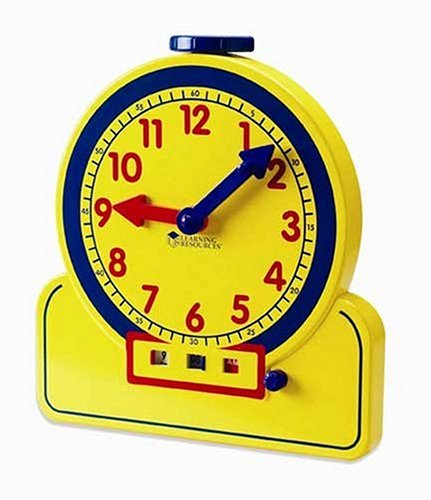 Learning Resources Primary Time Teacher 24 Hour Clock - 1