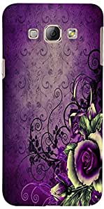 Phone Decor AM017SAMA8 Back Cover for Samsung Galaxy A8 (Multicolor)